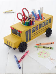 bus craft project kid