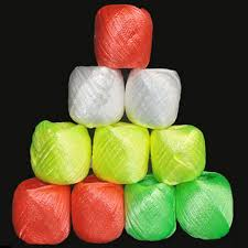 colored raffia fashion 10rolls pack colored plastic rope packaging rope for gift