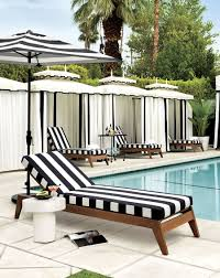 Patio And Porch Furniture by Patio Furniture And Decor Trend Bold Black And White