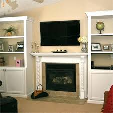 Built In Electric Fireplace Compact Esquilino Fireplace With Built In Storage Corner Electric