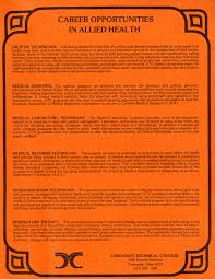 Medical Records Job Duties In Focus Division Of Health And Public Safety Fall 2013