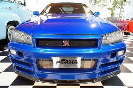 nissan r34 fast and furious fast and furious blue nissan skyline r34 gt r no car no fun