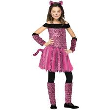 Costumes Halloween Girls Totally Ghoul Pink Leopard Girls Halloween Costume