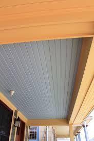 Pvc Beadboard Wainscoting - pvc porch ceiling lader blog
