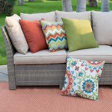 Sofa Pillow Sets by Belham Living Monticello All Weather Wicker Sofa Sectional Patio