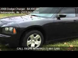 used dodge charger indianapolis 2008 dodge charger base 4dr sedan for sale in indianapolis
