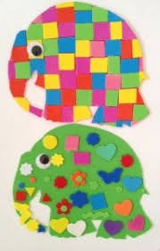 Elmer The Patchwork Elephant Story - book and activity for elmer the elephant elephant book