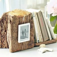 13 original ideas for decoration from tree stump interior design