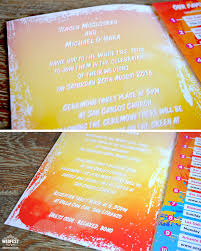 ibiza travel brochure wedding invitation wedfest