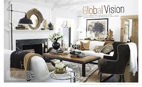pottery barn livingroom a globally inspired california home as seen in house beautiful