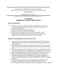 printable custodian resume sample with photos custodian resume