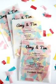 sle of wedding programs ceremony best 25 wedding confetti ideas on wedding rice
