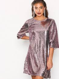 sequin dress hang sequin dress nly trend pink party dresses