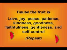 fruit spirit lyrics