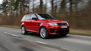 first range rover ever made first drive land rover range rover sport 5 0 v8 s c svr 5dr auto