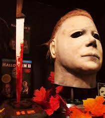 halloween ii michael myers mask and knife display michael myers net