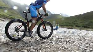 mannie heymans riding a fat bike at the cape epic 2014 youtube