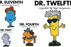 12 doctors roger hargreaves men characters