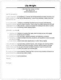customer service representative cover letter template format