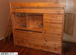 Concept Bunk Beds With Dresser Built In Another White Wood Bed - Good quality bunk beds