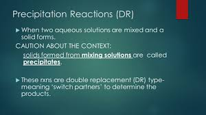 types of chemical reactions solution stoichiometry ppt download