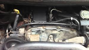 ford transit van 2003 mk6 engine problem rattling too much