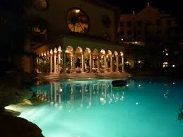 pool at night tenerife by sannnd on deviantart