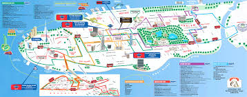 map of new york city manhattan streets and avenues must see places new york top tourist