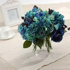 online get cheap blue roses arrangements aliexpress com alibaba