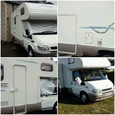 ford transit right hand drive rema motorhome 6 berth with large