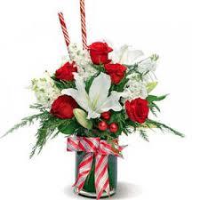 christmas flower arrangements candy bouquet christmas flowers flower arrangement