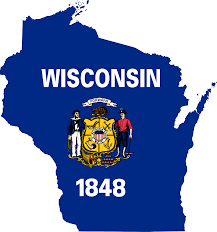 Wisconsin State Map by File Flag Map Of Wisconsin Svg Wikimedia Commons