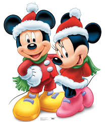 disney mickey mouse standup mickey mouse mice and disney christmas