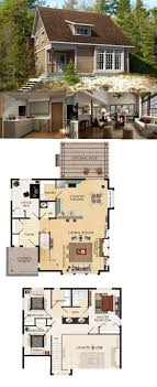 floor plan bedroom apartment modern cottages blueprints porch 2258 best cottage communities images on cottage