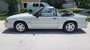 ford mustang gt 1992 1992 ford mustang gt convertible 2 door 5 0l white no reserve