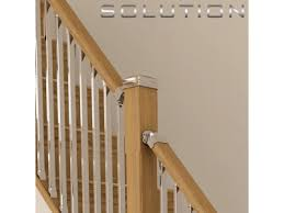 chrome banister rails chrome stair spindles rustic wood railing at http awoodrailing
