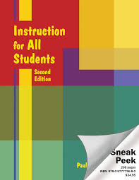 instruction for all students sneak peek by just ask publications