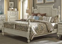 Bedside Table Height Relative To Bed High Country Bedroom King Poster Bed