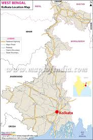 World Map Of India by Kolkata Location Map Where Is Kolkata