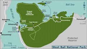 Bali Indonesia Map Bali Barat National Park U2013 A Great Tourist Spot In North West Of