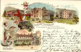 Pension Baden Baden Baden Baden Pension Schirmhof Schweizerhaus Villa Victoria Xl