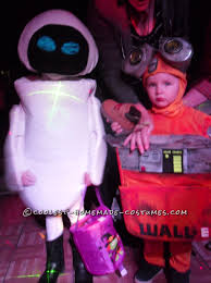 diy wall e and e v e costumes for the happiest kids ever