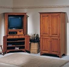 Entertainment Armoire With Pocket Doors Cherry Tv Armoire Foter