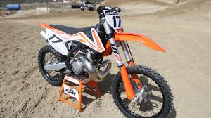 factory motocross bikes for sale 2017 ktm 250sx 2 stroke dirt bike magazine youtube