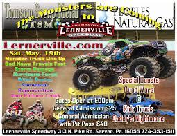 monster truck show in pa monster trucks at lernerville speedway