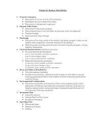 basic outlines business plan outlines asafon ggec co outlinexle pdf