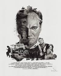 movie director portrait print quentin tarantino das neue cover