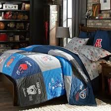 Sports Themed Comforters Nfl Historic Quilt Sham Pbteen