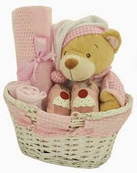 online gift baskets adorable gingham baby girl gift basket available online at http