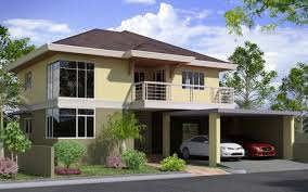 Modern Two Story House Plans Simple Two Storey House Plans 2 Story Home Designs 115 15 On Plan